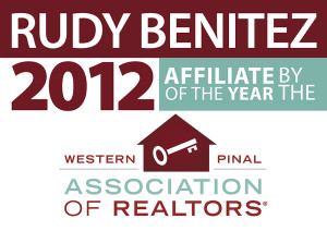 Benitez 2012 Affiliate of the Year by the WPAR Image