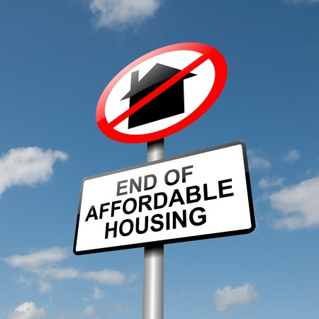 End of affordable housing