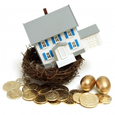 House-Nest-Gold