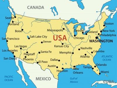 U.S.-Map