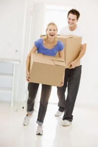 Young Couple_Moving Boxes