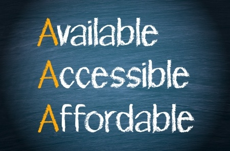Available, Accessible, Affordable