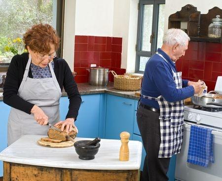 Seniors-Cooking