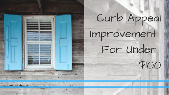 curb-appeal improvements for under $100